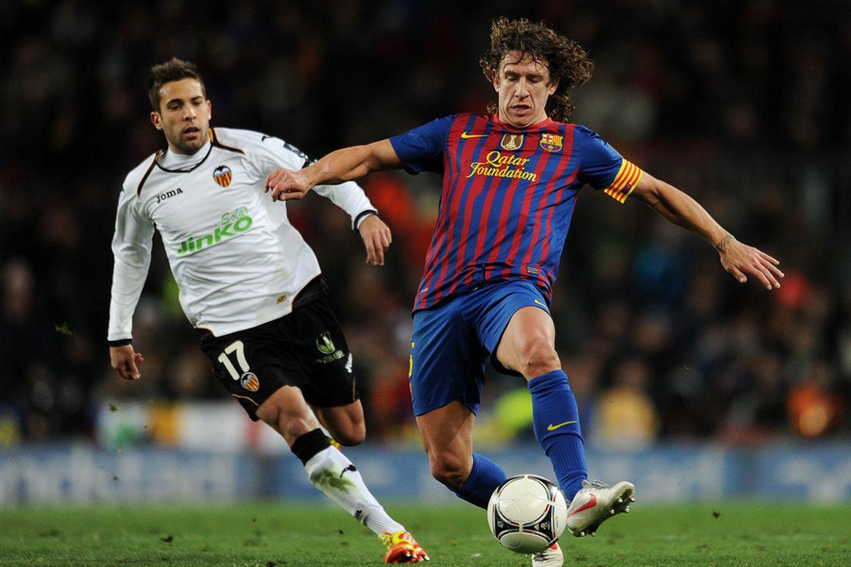 Will Jordi Alba really be wearing the same colors as Carles Puyol next season?