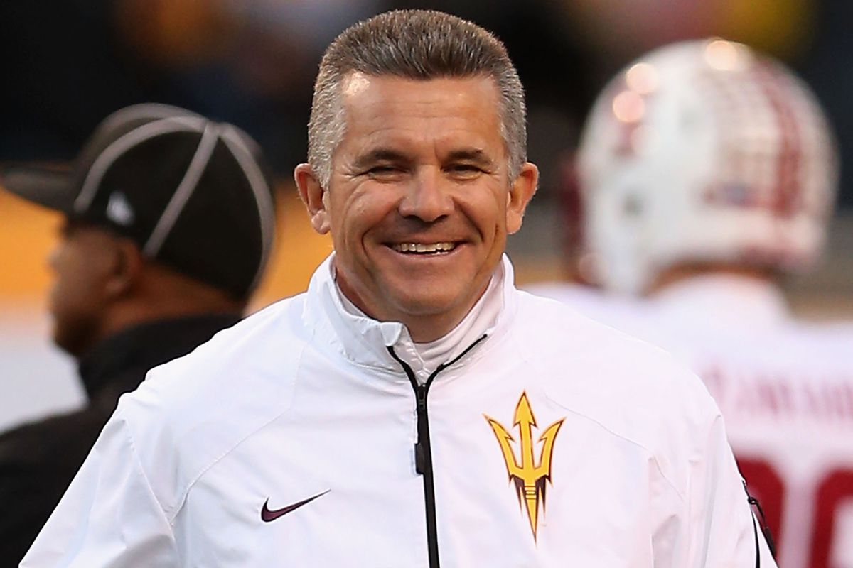 Todd Graham should be all smiles today.