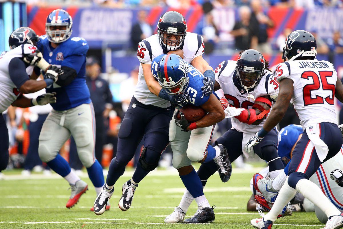 Houston Texans v New York Giants