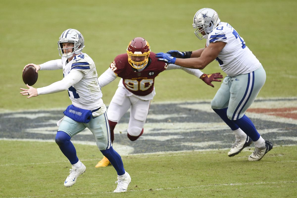 Grading the Cowboys humiliating loss to the Washington Football Team -  Blogging The Boys