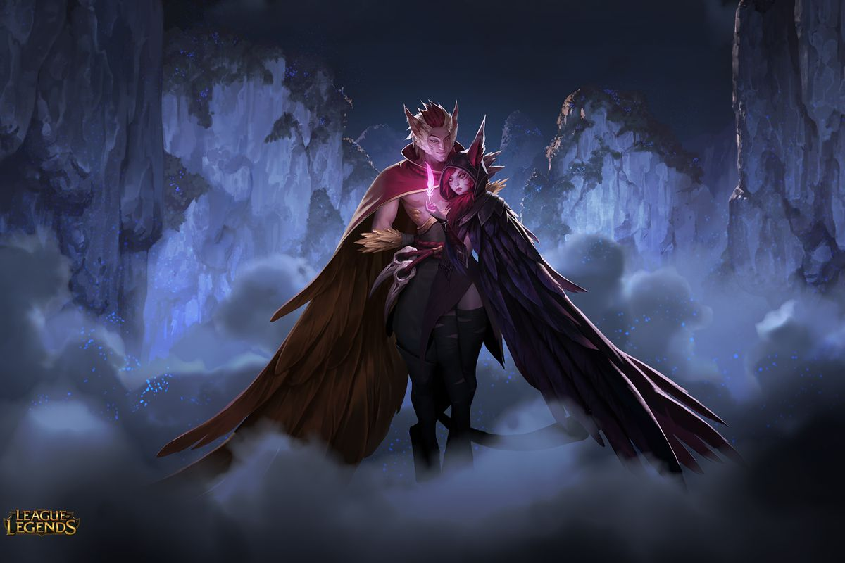 The Mysterious Teases Weve Been Getting All Week Have Confirmed League Of Legends Is Introducing TWO New Champions Xayah And Rakan Will Be Joining