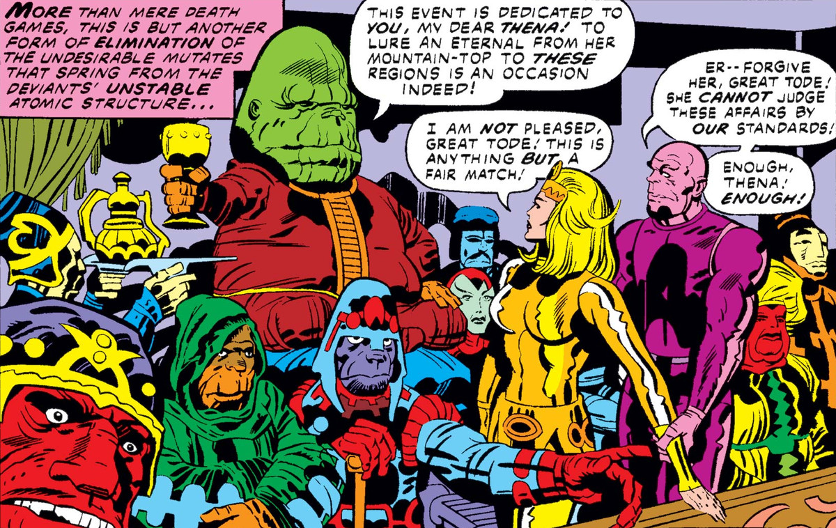 Marvel's The Eternals characters, origins, powers & story, explained
