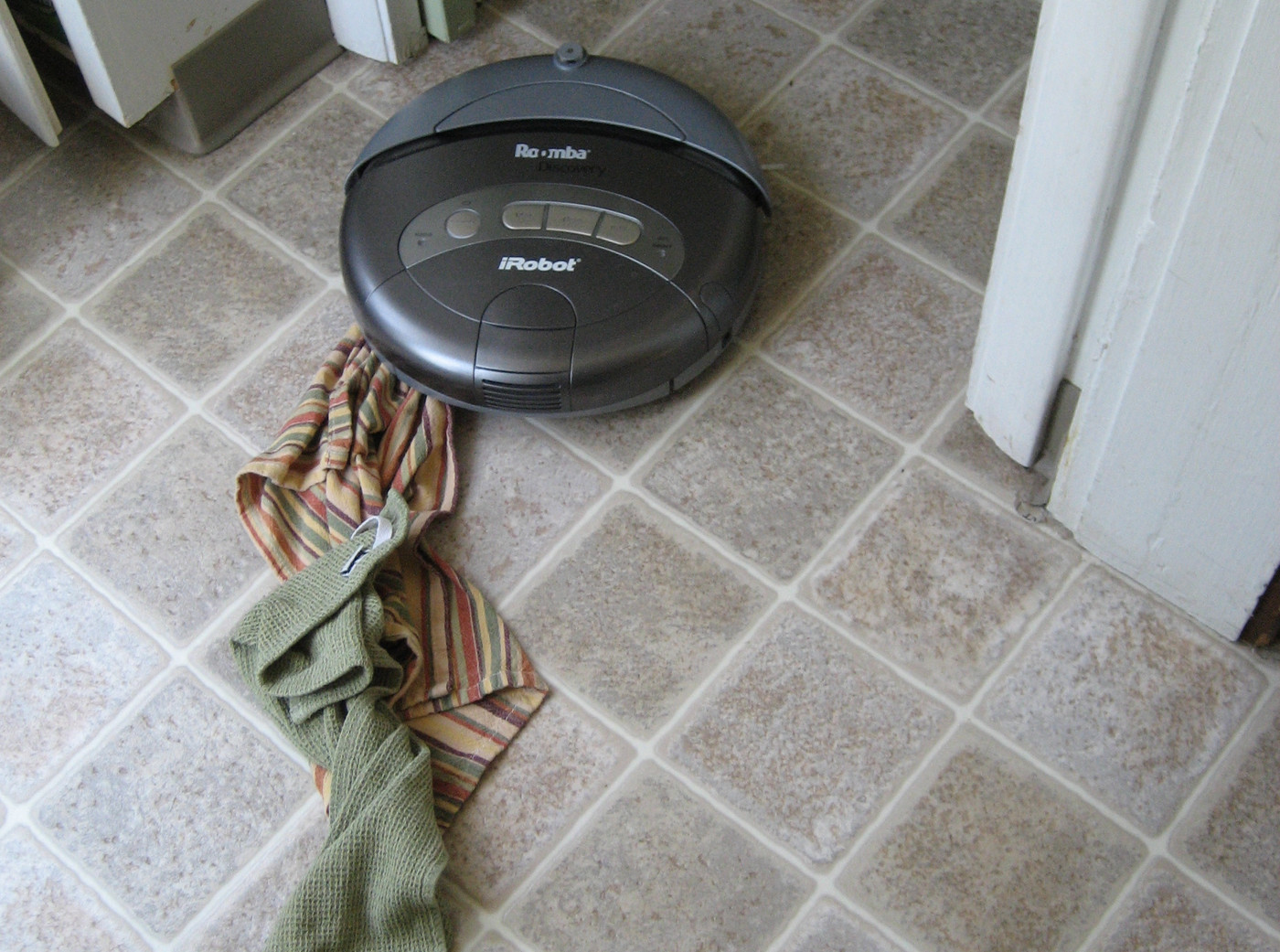 A Roomba smeared dog poop all over this man's house  There's