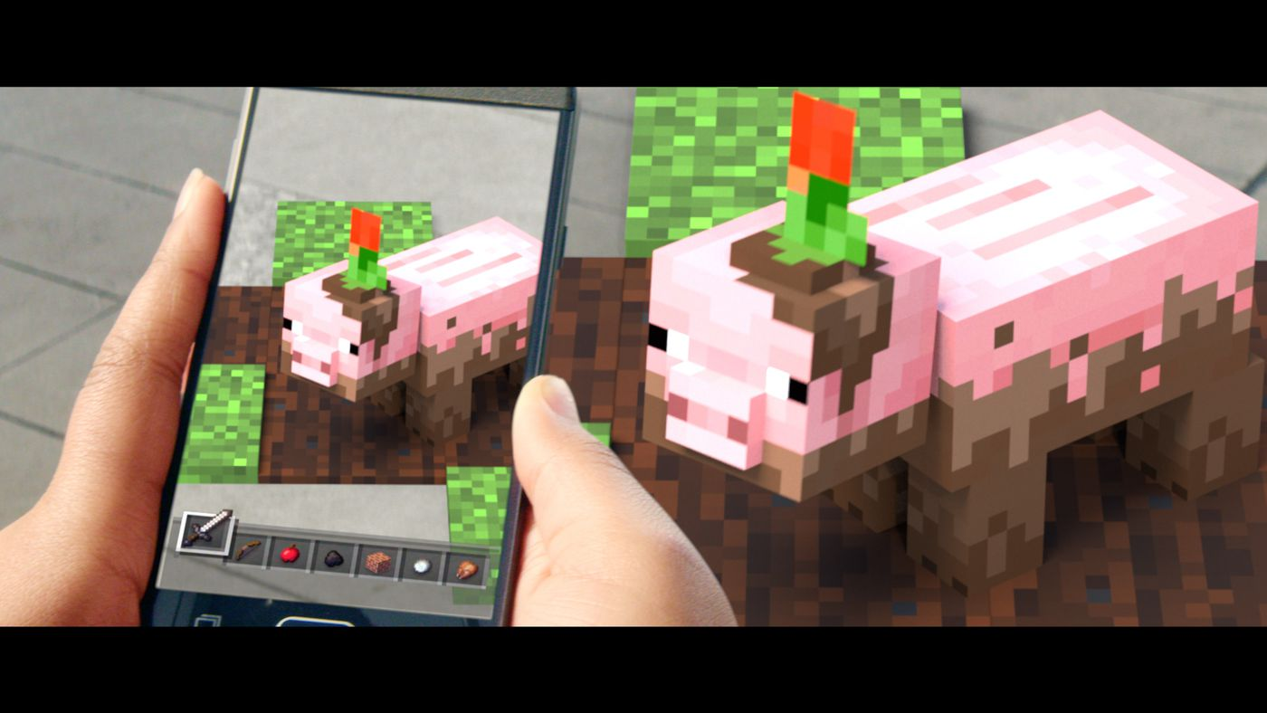 Minecraft's next game will be a Pokémon Go-style mobile game