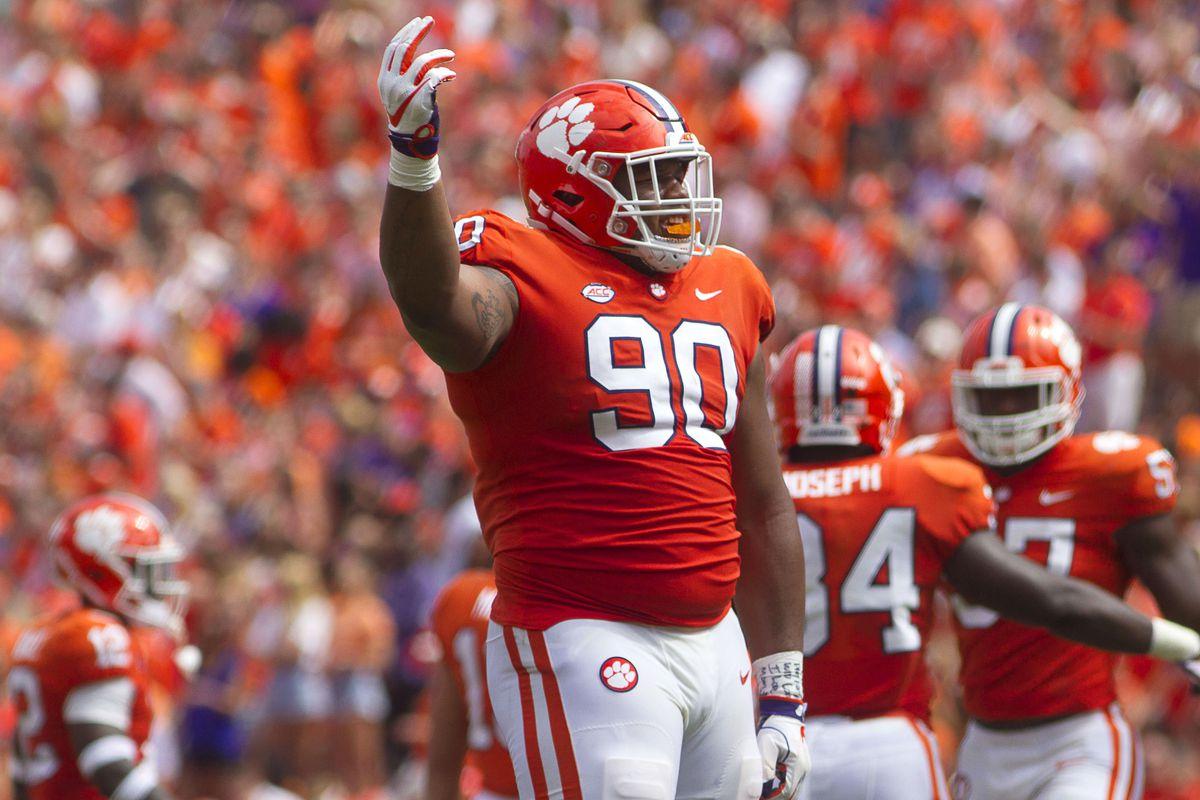 2019 NFL Draft: Scouting Clemson defensive tackle, Dexter ...