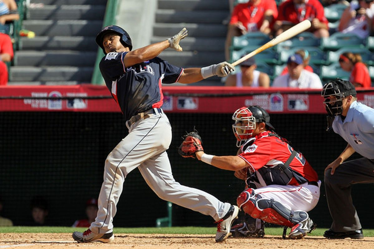 Tigers outfield prospect Wilkin Ramirez was traded to the Braves for cash or a player to be named later just weeks after his appearance in the Futures Game.
