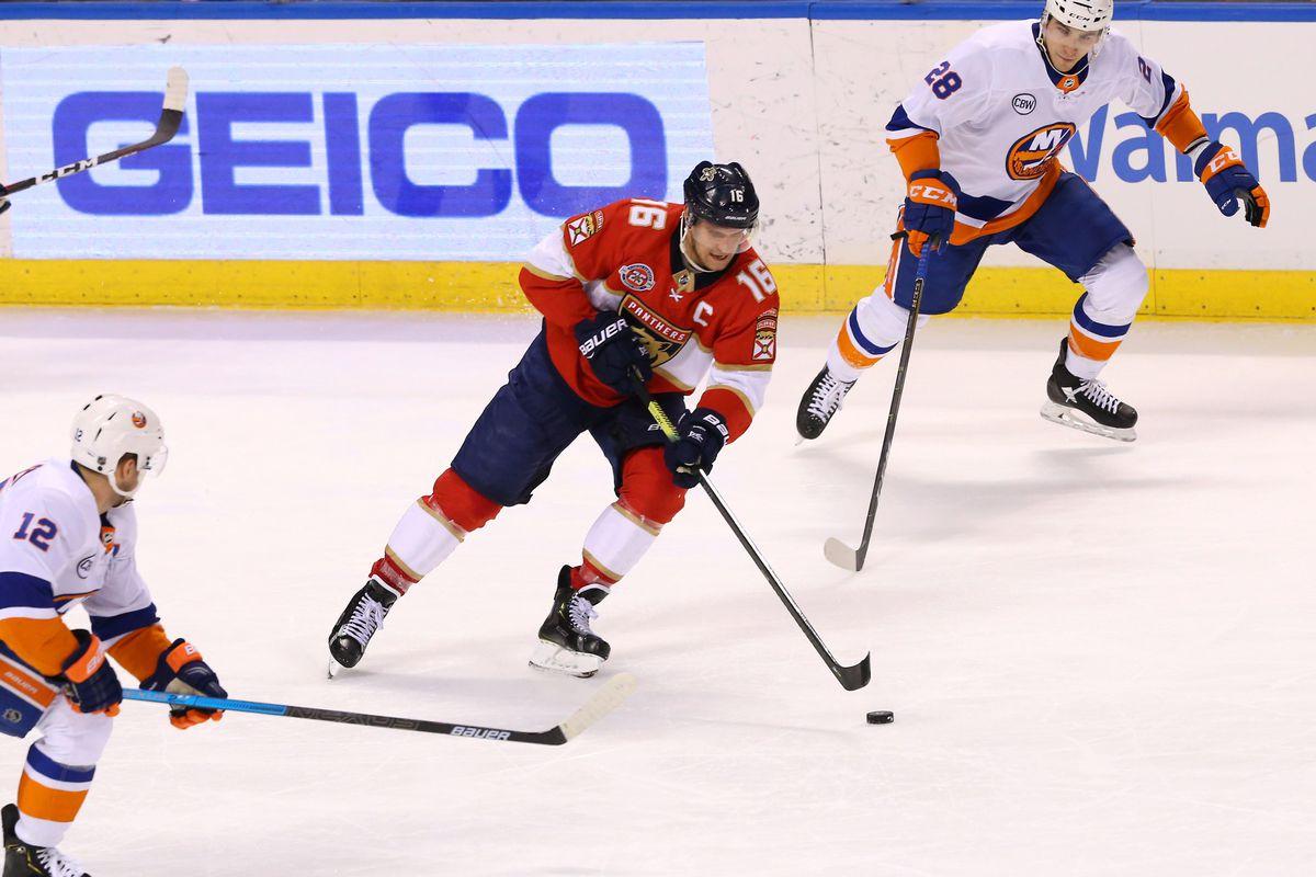 NHL: New York Islanders at Florida Panthers