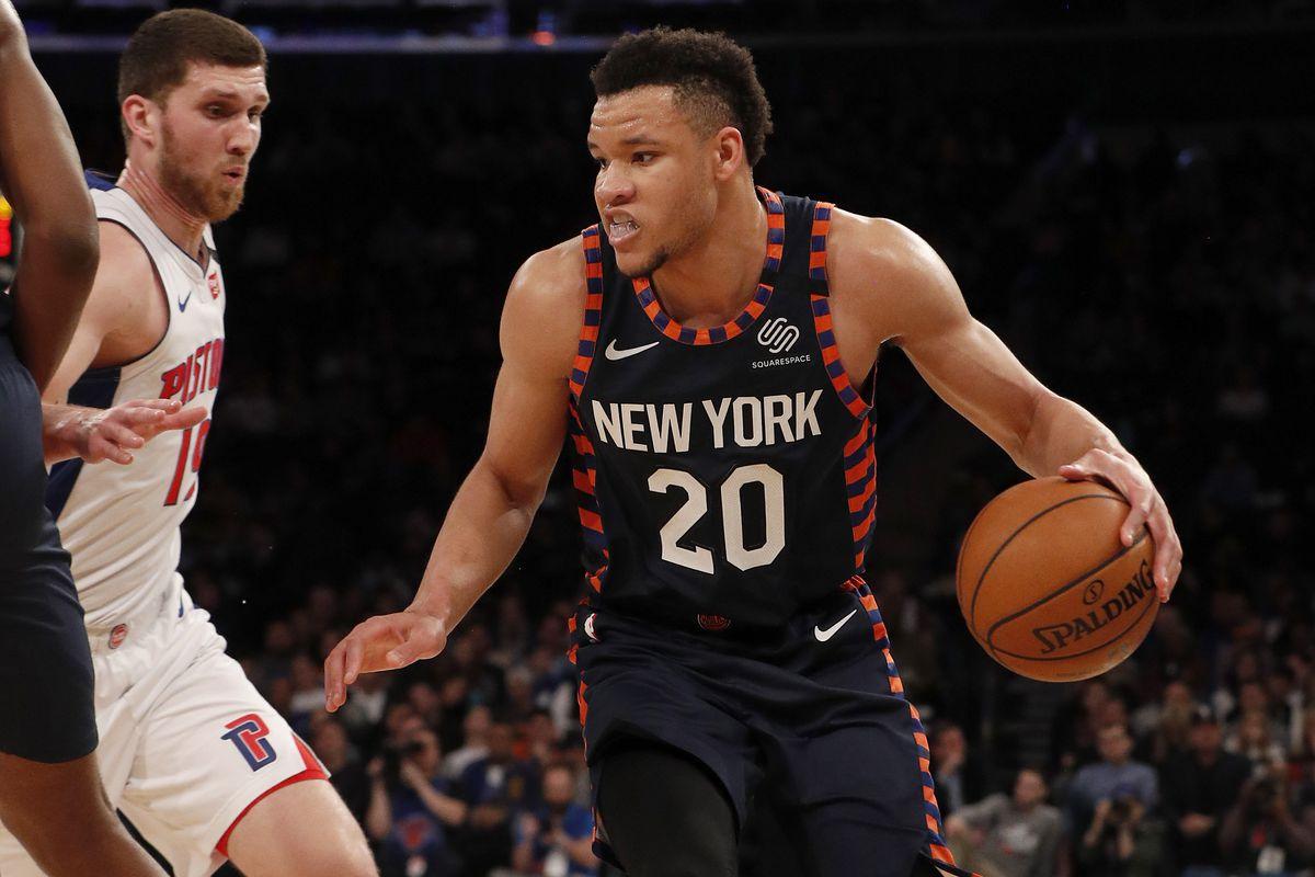 Detroit Pistons v New York Knicks
