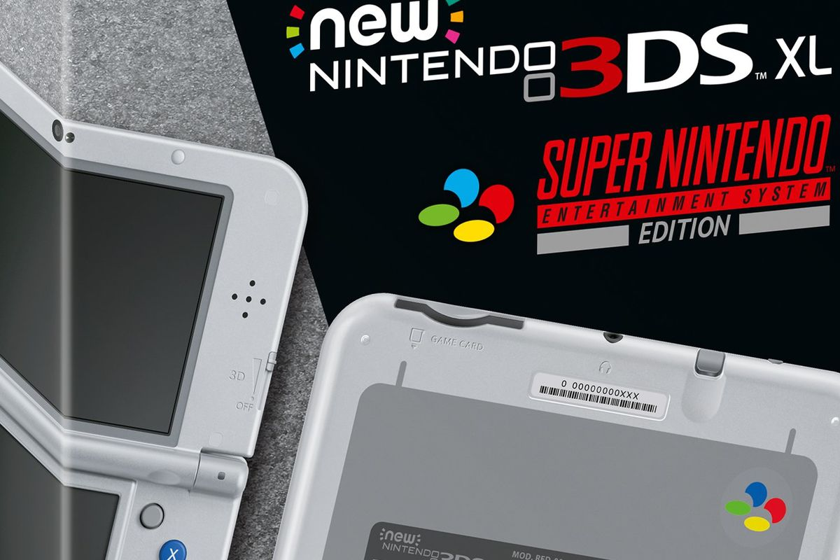 SNES Edition New Nintendo 3DS XL coming to Europe - Polygon