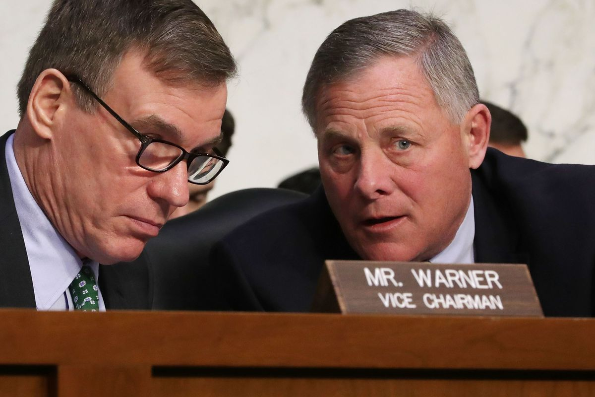 The top two leaders of the Senate Intelligence Committee, Chairman Richard Burr (R-NC) and Ranking Member Mark Warner (D-VA) conclude that Russia did try to help Trump win the 2016 presidential election.