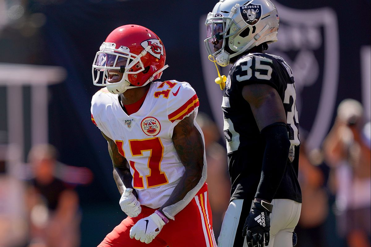 Miscommunications in Raiders secondary spurred Chiefs four TD second quarter, 'we're going to get better. I g…