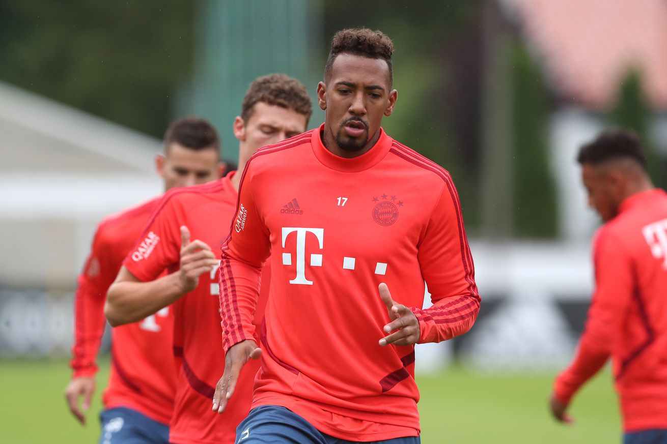 Jerome Boateng apologizes for his poor attitude at the end of last season