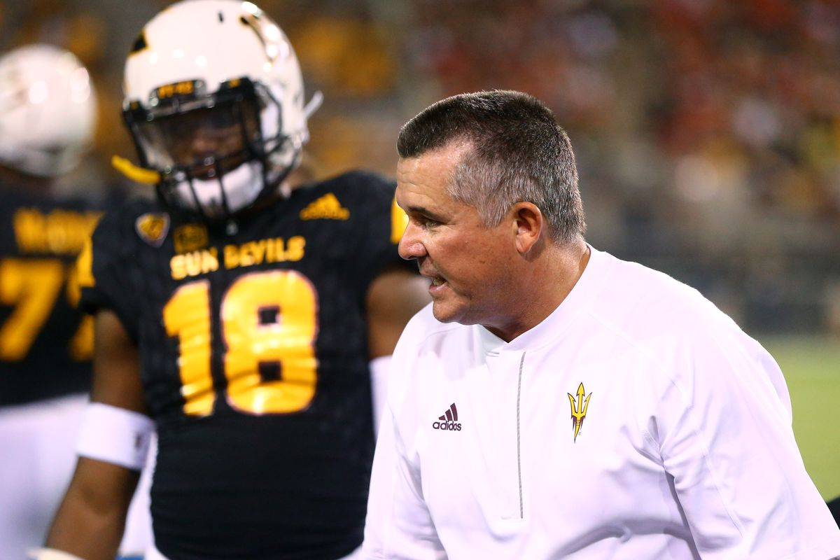 NCAA Football: Texas Tech at Arizona State
