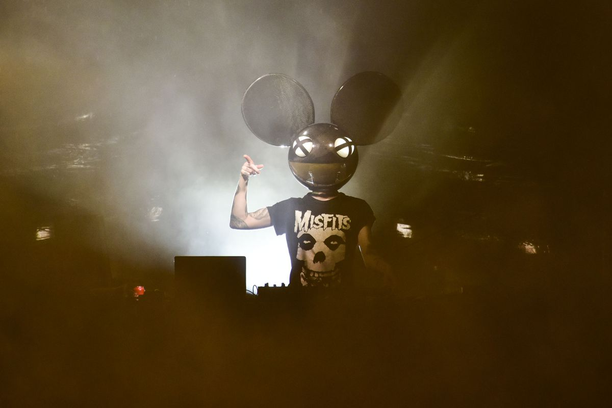 deadmau5 Performs At The Rooftop At Pier 17 In The Seaport District NYC