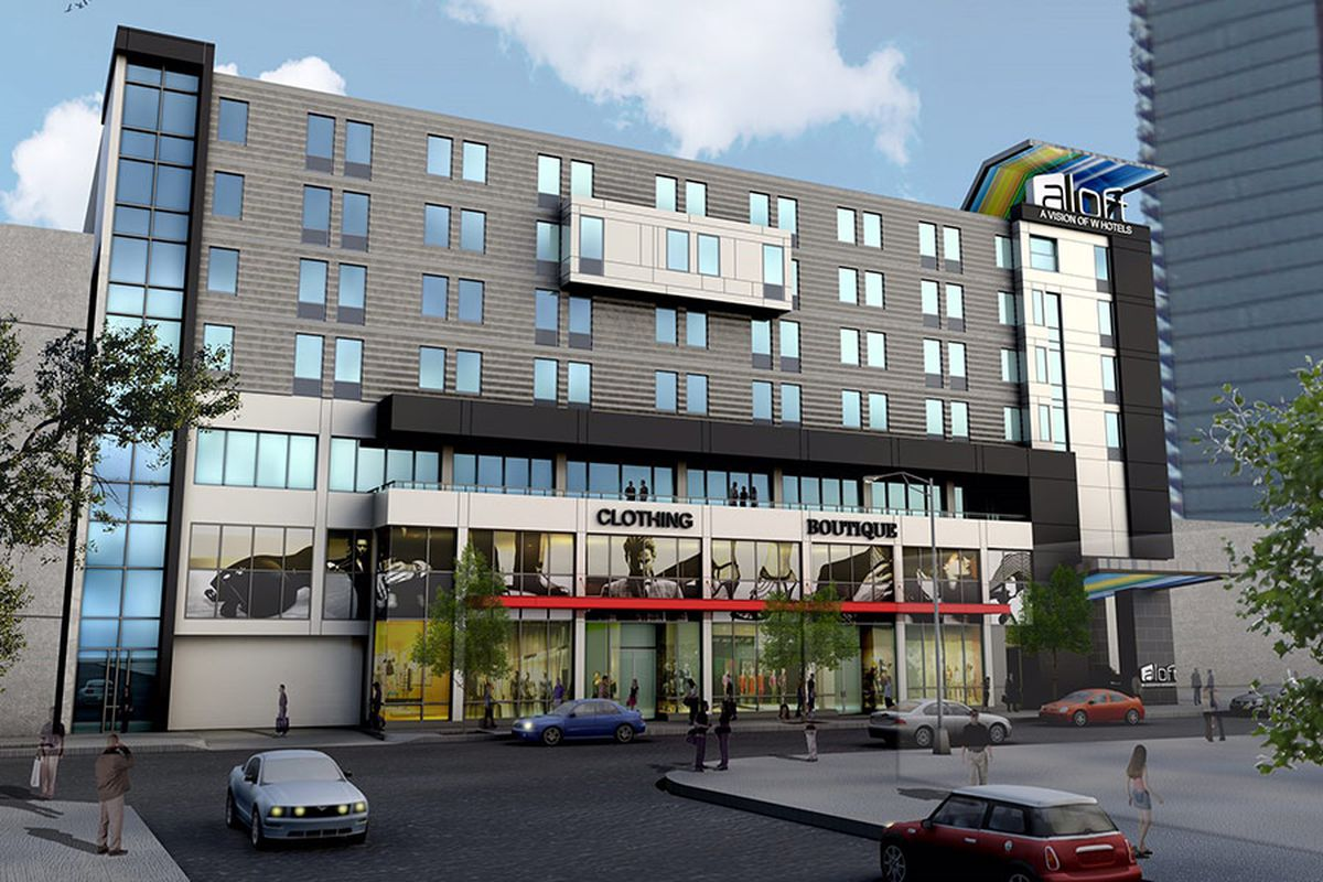 Seven Story Hotel Proposed For Chicago S Clybourn Corridor