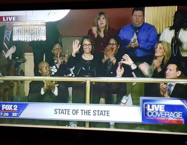 Marla Williams, a teacher at Davison Elementary-Middle School in Detroit, was highlighted during Gov. Gretchen Whitmer's State of the State address earlier this year.