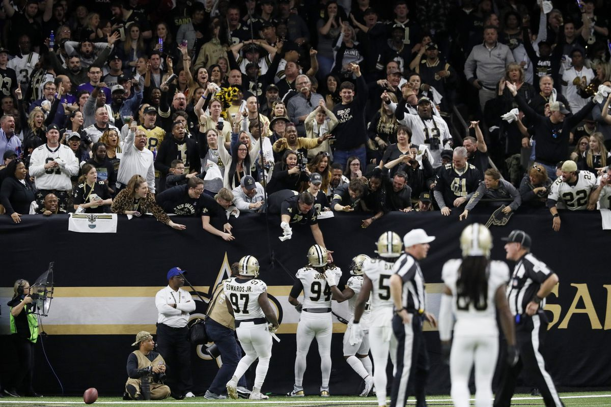 New Orleans Saints vs Minnesota Vikings, 2020 NFC Wild Card Playoffs