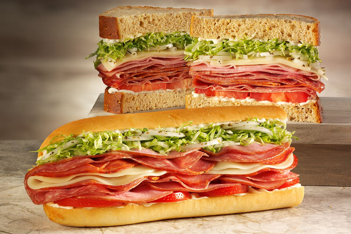 Two sandwiches