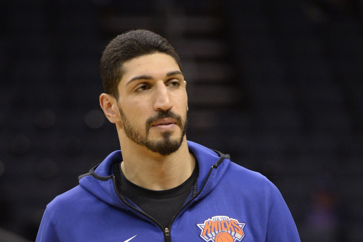 woj  knicks will enter into discussions with enes kanter