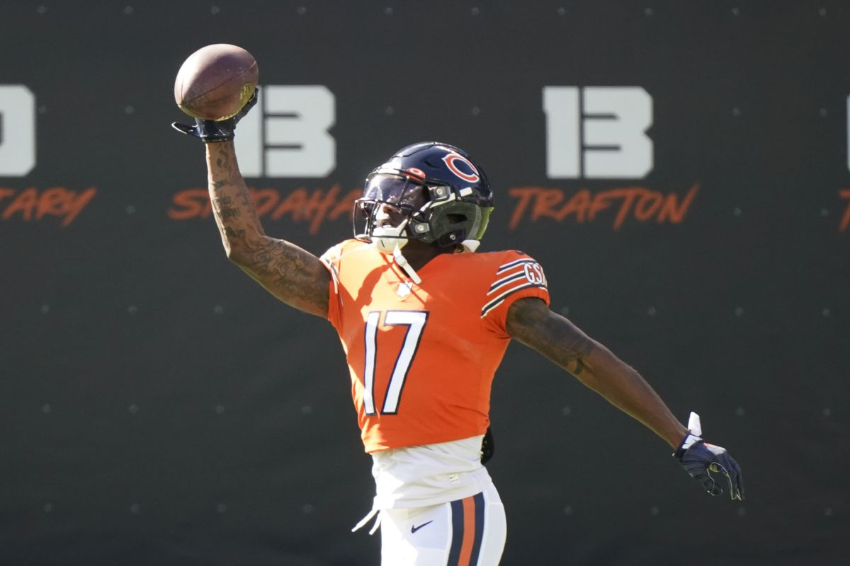 Anthony Miller has nine catches for 133 yards on 19 targets this season.