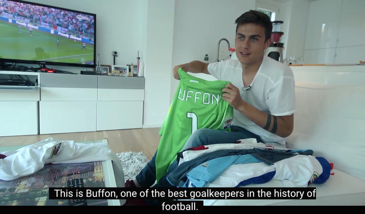 Dybala Buffon