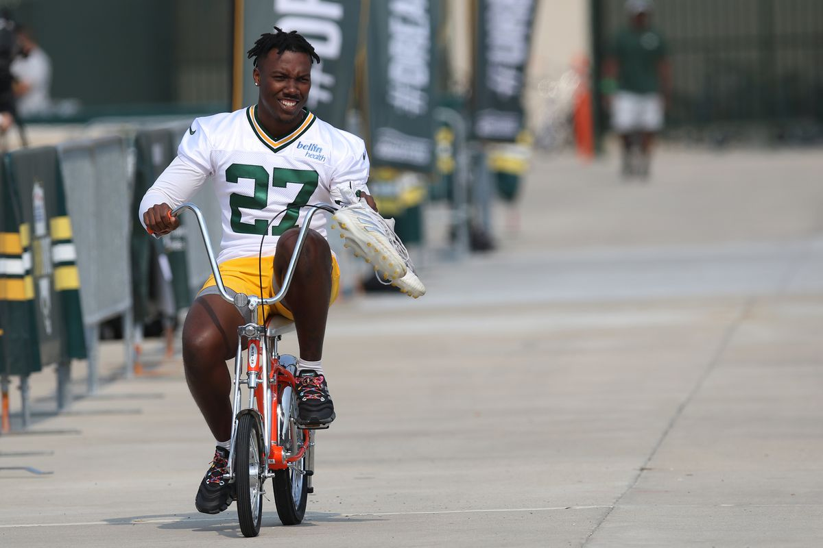 NFL: JUL 28 Green Bay Packers Training Camp