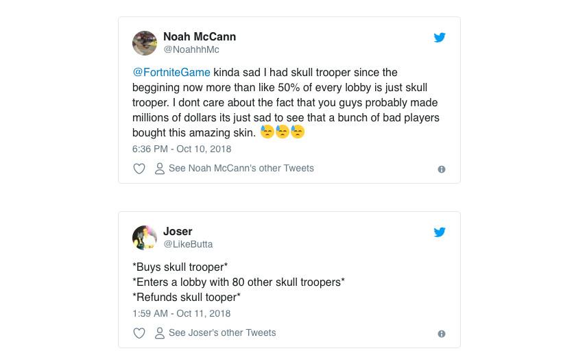Fortnite's Skull Trooper mania shows how Epic makes big