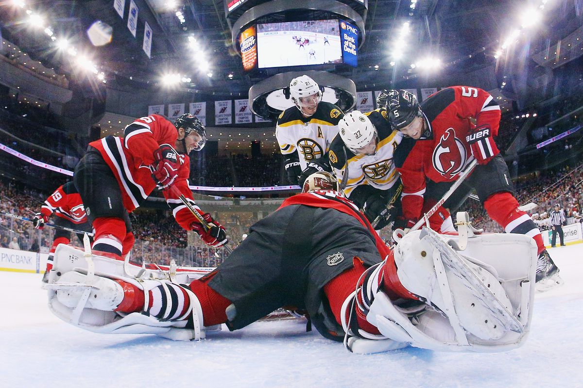 The Bruins were often going forward in their last game. Let's hope that happens at least a little less tonight.