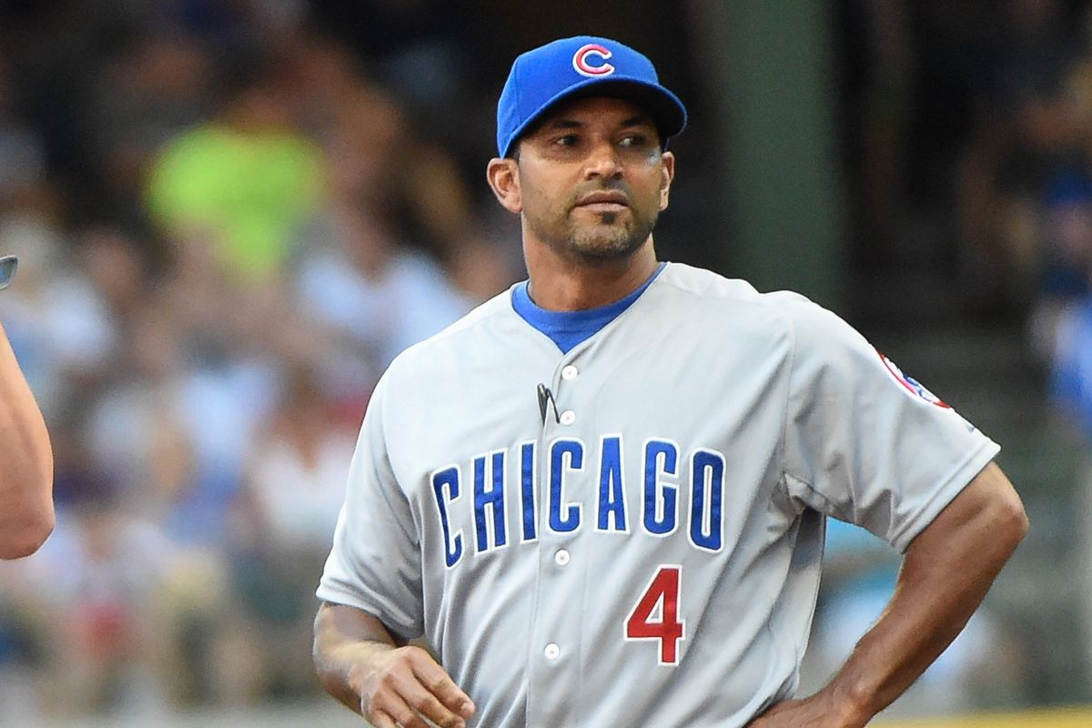 Current Cubs bench coach Dave Martinez is likely to be mentioned as a candidate for Dodgers manager.