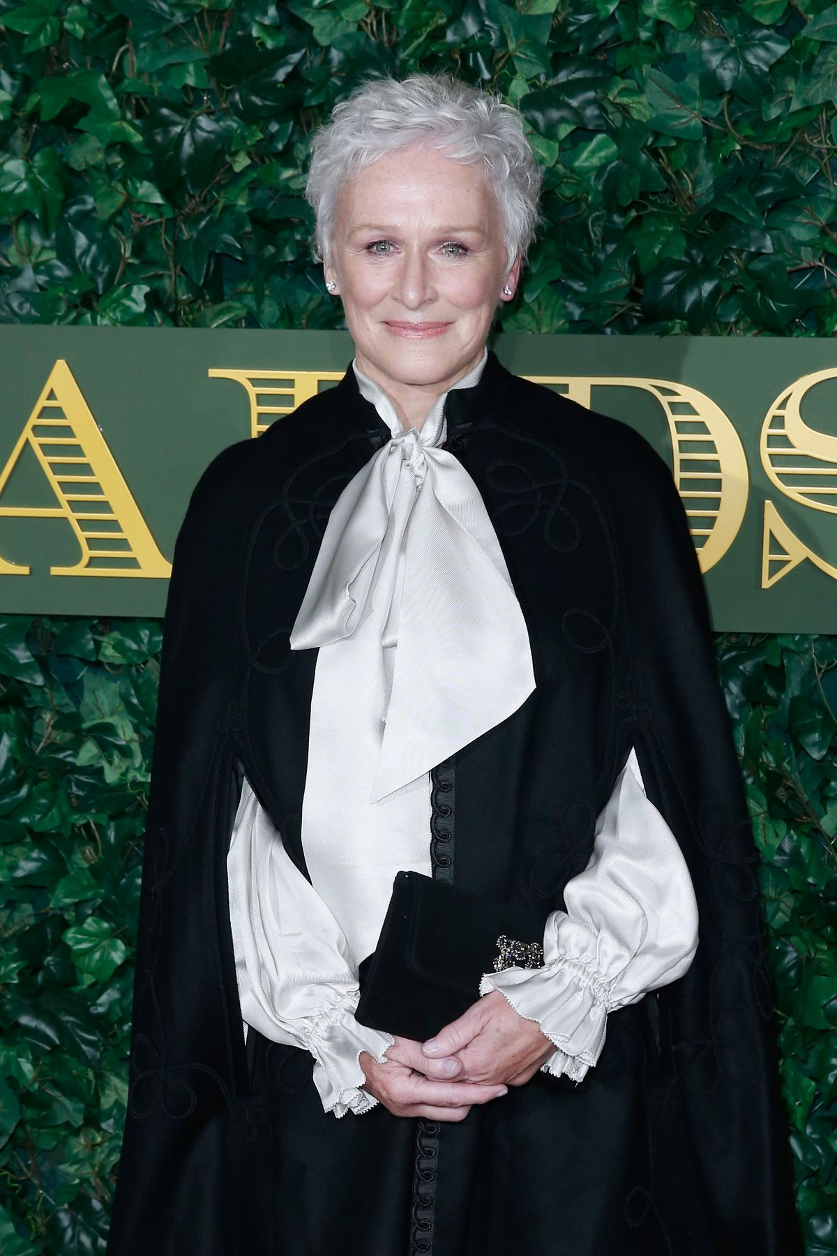 Glenn Close attends The London Evening Standard Theatre Awards at The Old Vic Theatre on November 13, 2016 in London, England. (Photo by John Phillips/Getty Images)