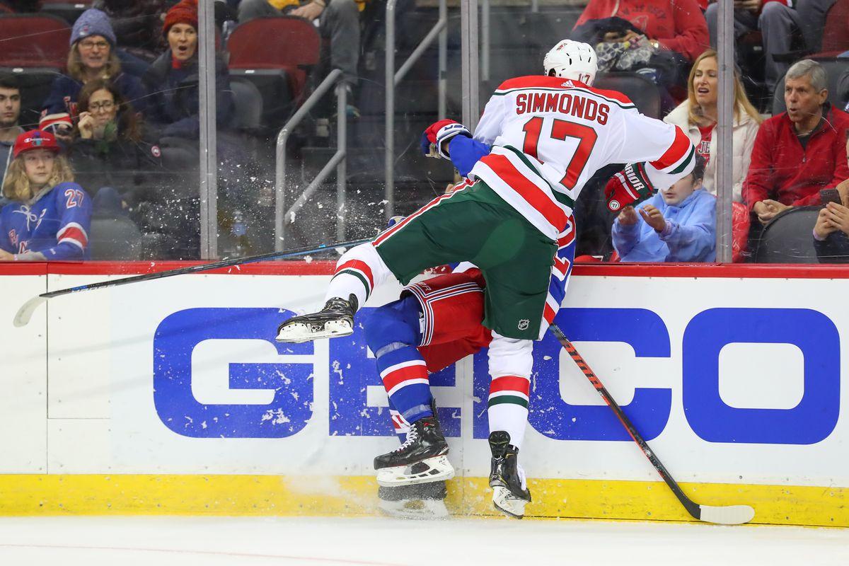 NHL: NOV 30 Rangers at Devils