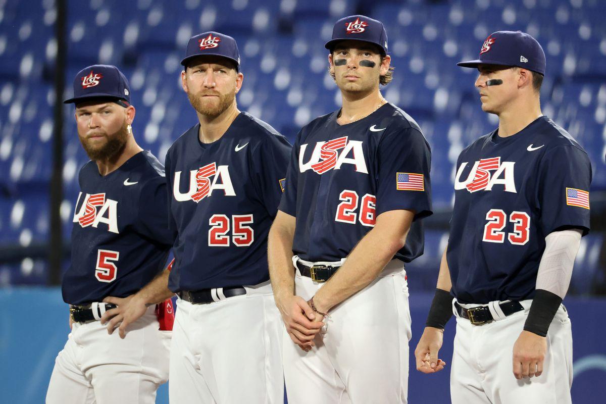 United States v Japan - Baseball Gold Medal Game - Olympics: Day 15