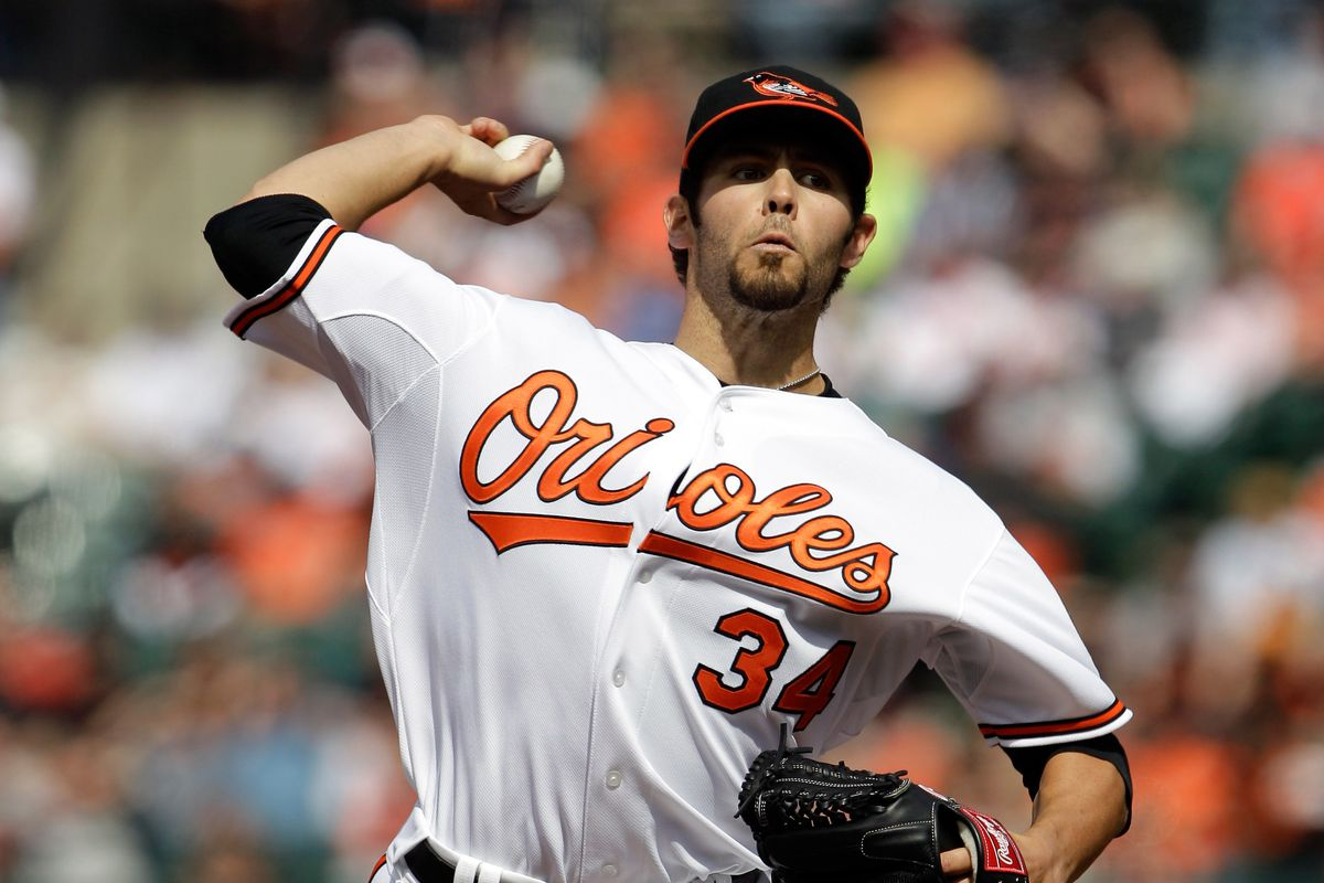 Before he was a Cy Young winner with the Cubs, Jake Arrieta was a disappointing Opening Day starter with the Orioles.