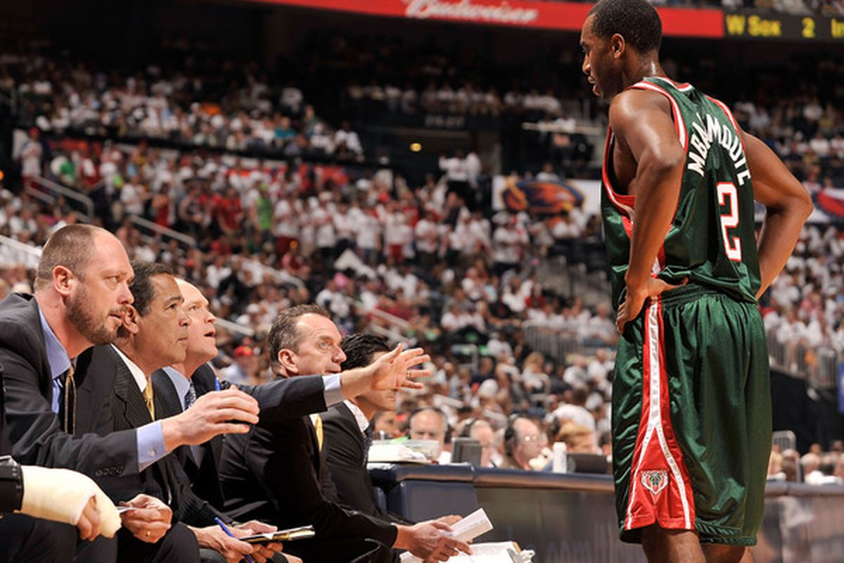 The Bucks' coaching staff has yet to figure out the best use of Mbah a Moute's talents.