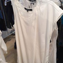 Silk top, $80