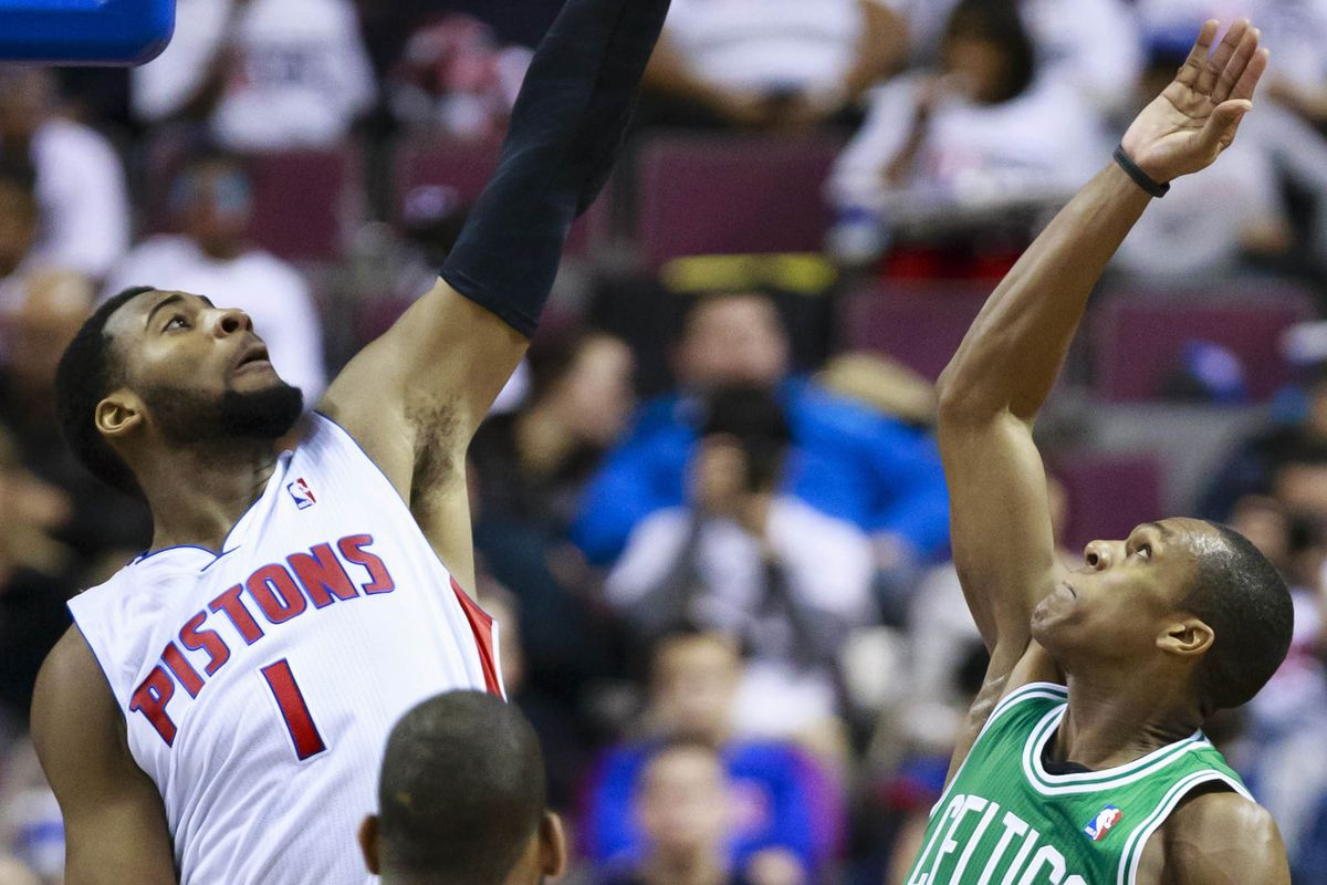 Andre Drummond should continue to be more than the Celtics can handle.