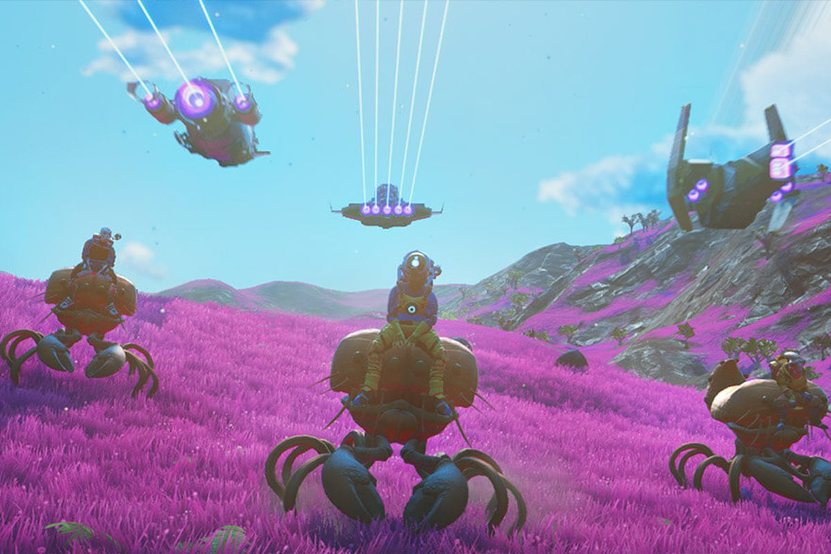 No Man's Sky's Beyond update is bringing some major quality