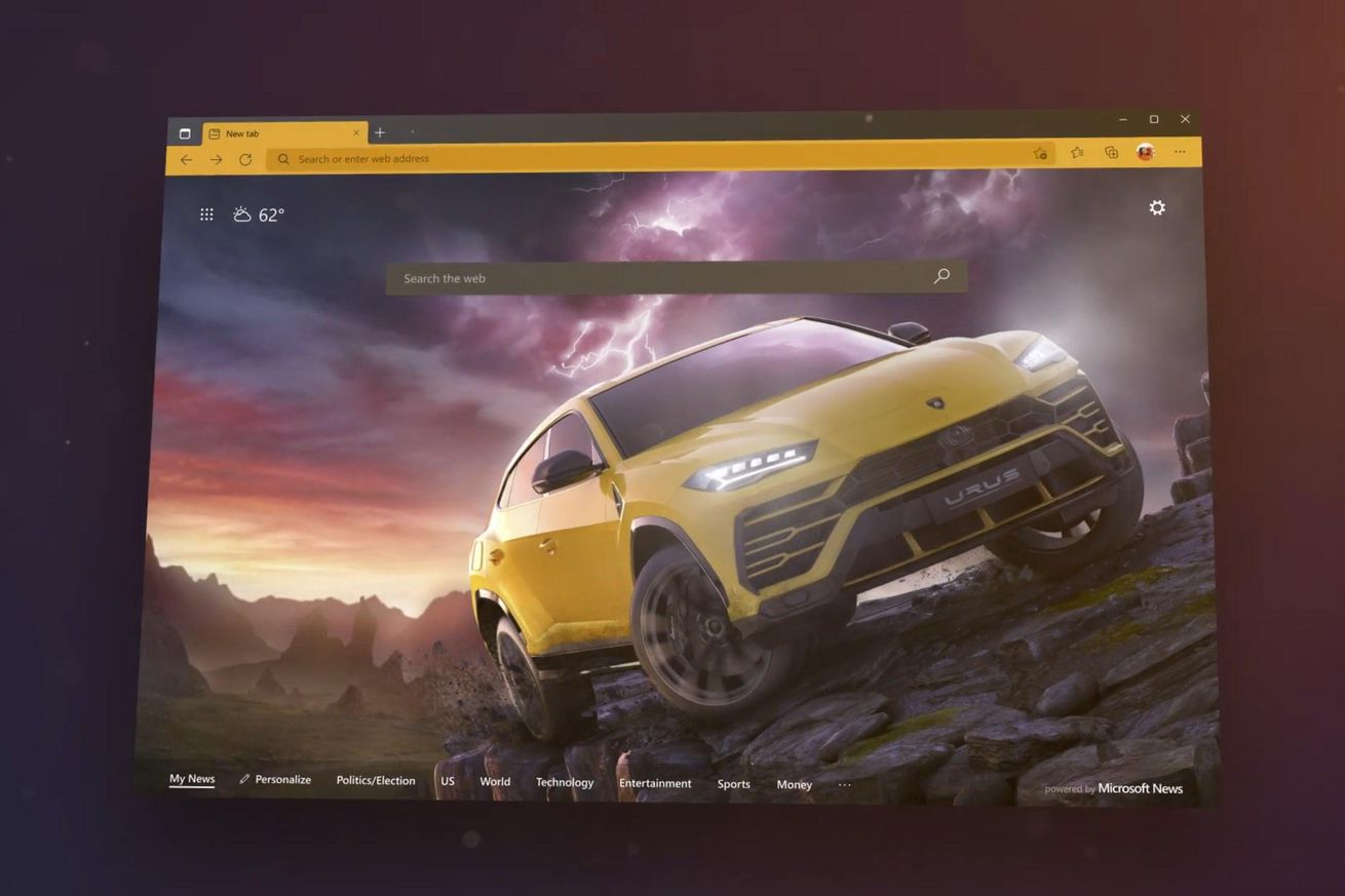 Microsoft Edge gets new colorful themes, sleeping tabs feature, and password manager