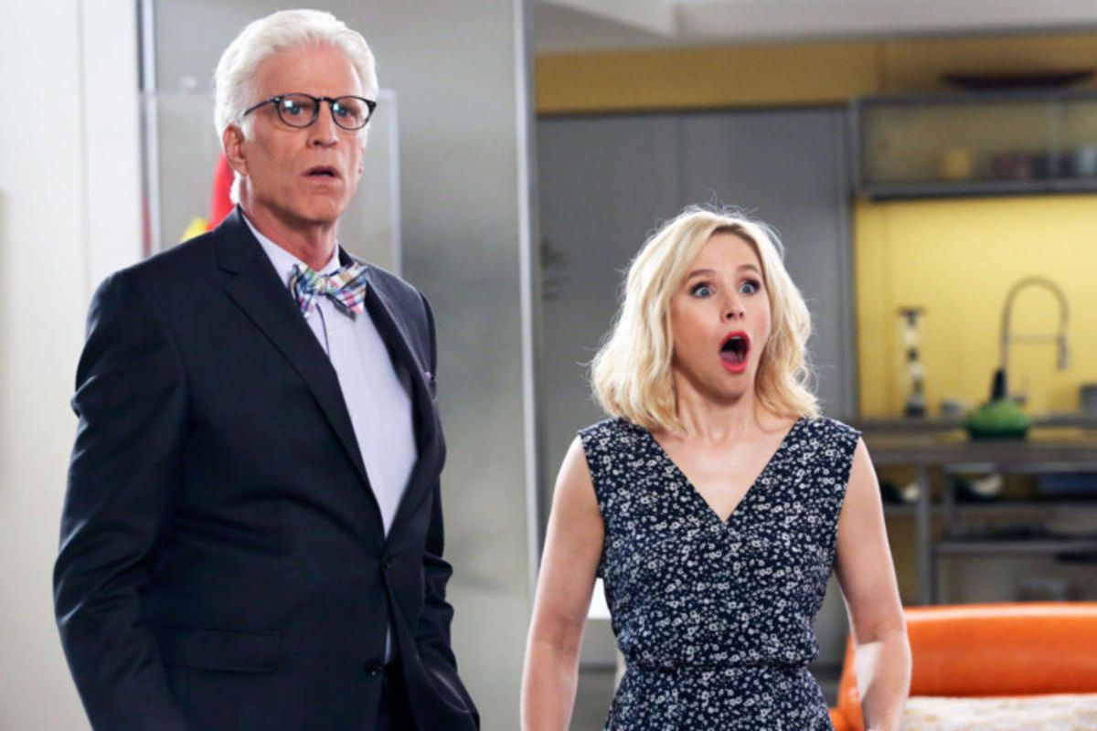 """Ted Danson and Kristen Bell star in the afterlife sitcom """"The Good Place."""""""