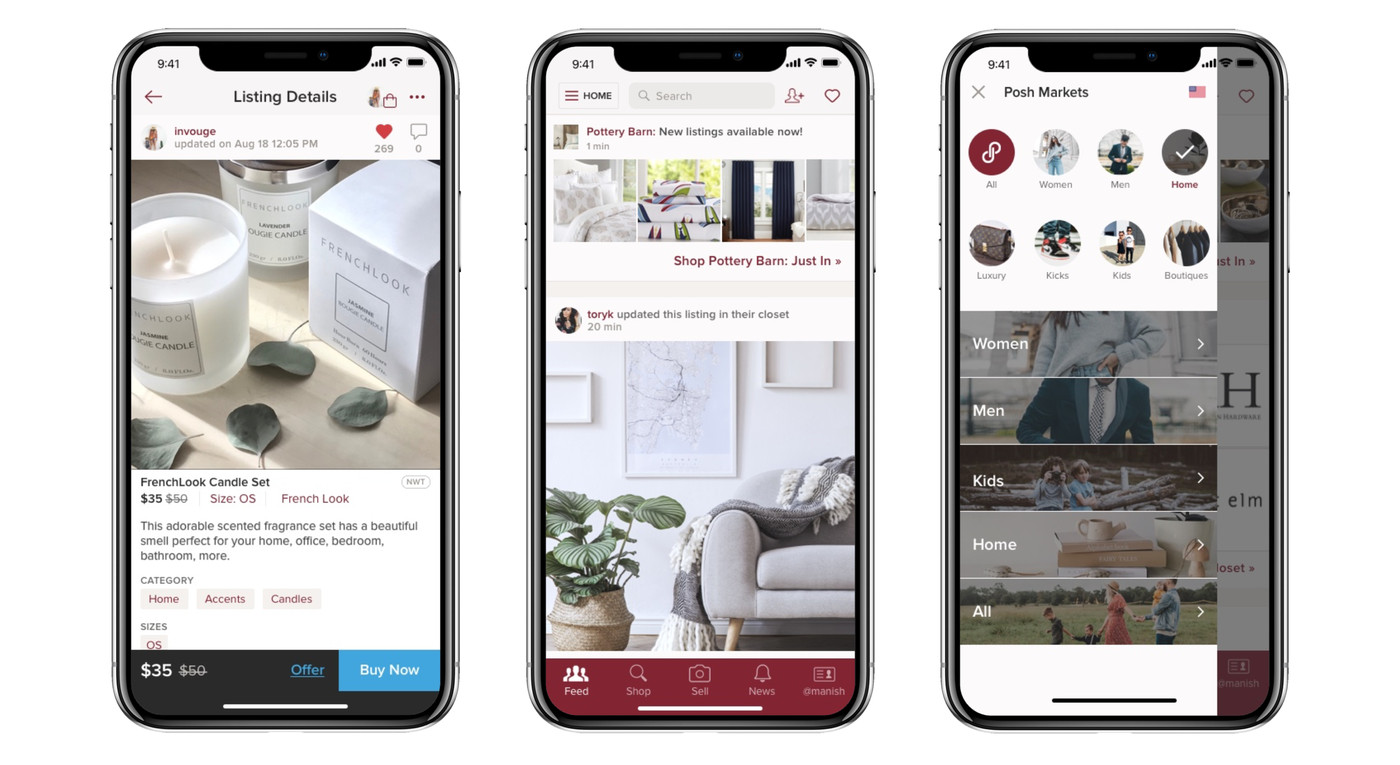 Poshmark's home market is growing fast as it strives to
