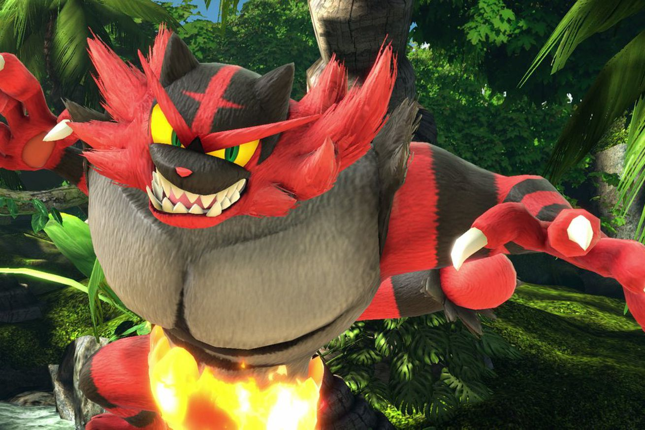 super smash bros ultimate gets incineroar ken and piranha plant as new characters