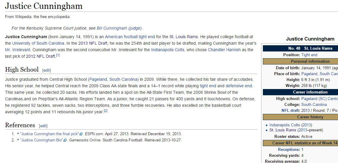 Justice Cunningham wikipedia