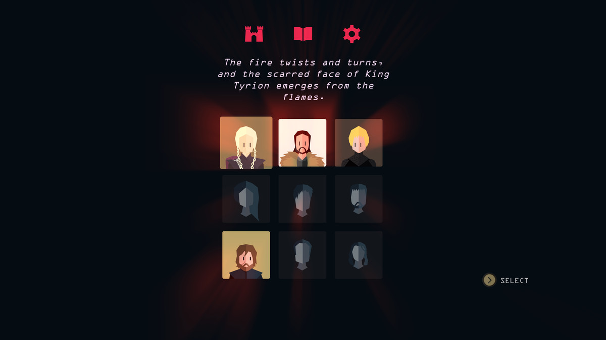 Reigns: Game of Thrones - King Tyrion emerges from the flames