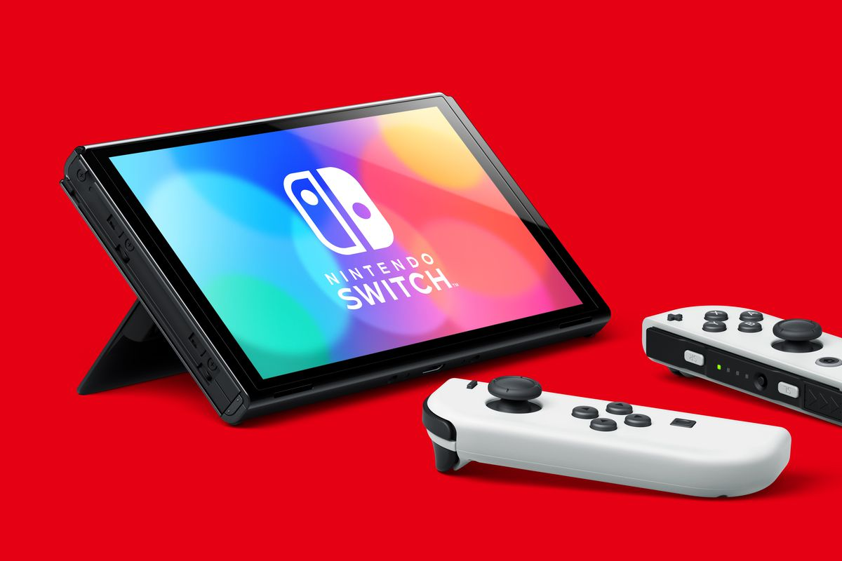 Nintendo Switch OLED hands-on: a small upgrade that makes a big difference  - The Verge