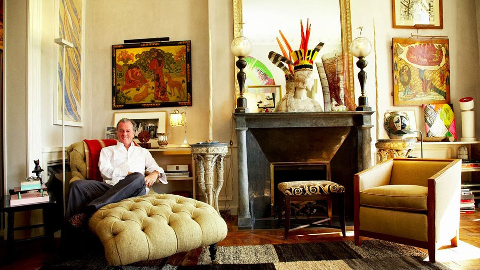 An Afternoon With Jacques Grange Fearless Decorator For