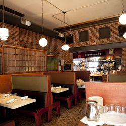 <strong> Sonny's,</strong> Old Port. Outside, the grey facade of the former bank stands imposingly at the top of Exchange Street. Inside, the vault stands open, now serving as a wine cellar and a focal point for a shabby-chic bar area that has the feel of