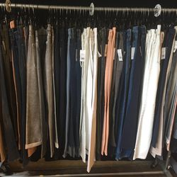 Denim pants, $79