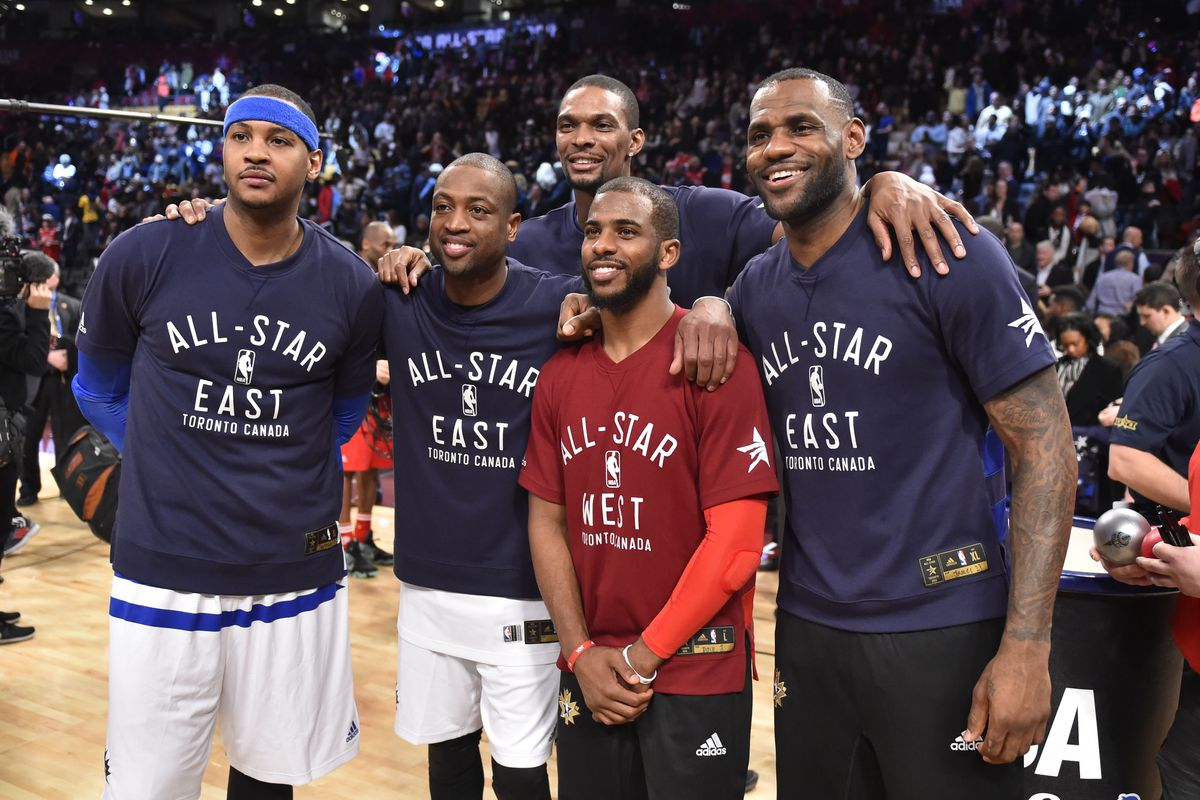 uk availability a2046 22b8d LeBron James wants his All-Star friends as teammates. Here's ...