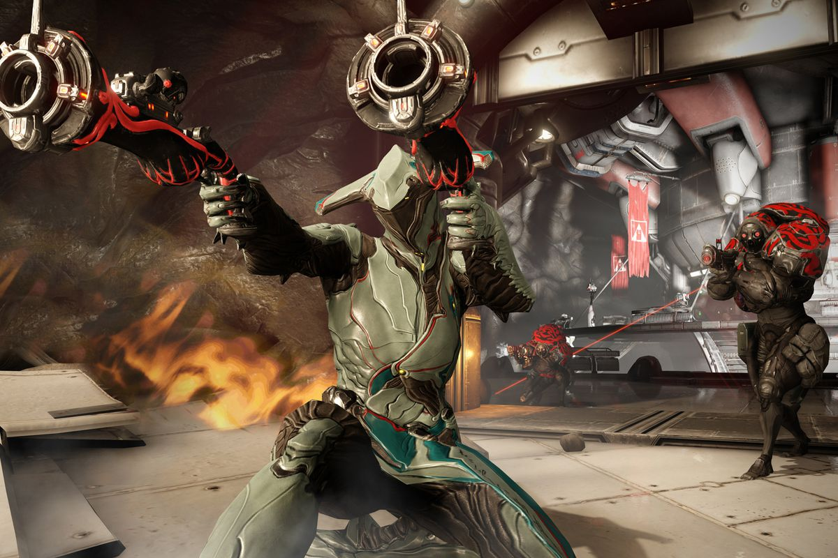 Why didn't anyone tell me Warframe is now the perfect game