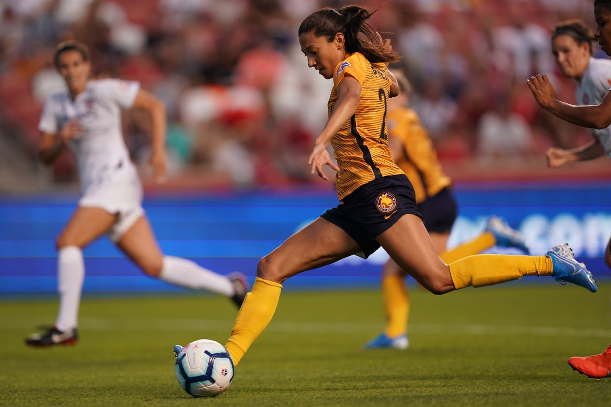 Christen Press likes to score goals, water is wet - All For XI